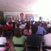 Photo taken at Comité Directivo Estatal PRI by Eduardo S. on 6/2/2012