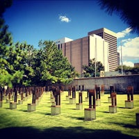 Photo taken at Oklahoma City National Memorial & Museum by Jamie R. on 7/25/2012