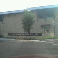 Photo taken at Patrick Heath Public Library by Peggy H. on 4/12/2012