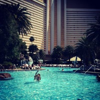 Photo taken at The Mirage Pool & Cabanas by Jessica S. on 4/28/2012