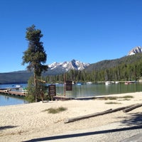 Photo taken at Redfish Lake Lodge by Rob P. on 6/21/2012