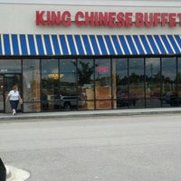 Photo taken at King Chinese Buffet by Mike G. on 6/14/2012