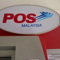 Photo taken at Pejabat Pos (Post Office) by Feardaused K. on 7/12/2012