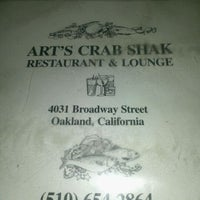 Photo taken at Art's Crab Shak by Eve G. on 6/2/2012