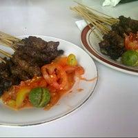 Photo taken at Sate Maranggi Cibungur by Adi N. on 8/31/2012