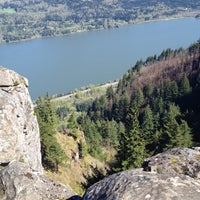 Photo taken at Angels Rest by Annie M. on 4/21/2012
