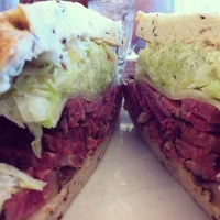 Photo taken at Langer's Delicatessen-Restaurant by David B. on 5/23/2012