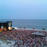 Photo taken at Chevrolet Stage at Hangout Music Fest by Danielle C. on 5/19/2012