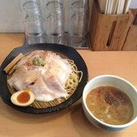 Photo taken at とろ肉つけ麺 魚とん by Jun I. on 3/8/2012