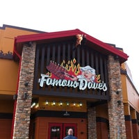 Photo taken at Famous Dave's by Paul B. on 3/23/2012