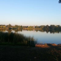 Photo taken at Huston Lake Park by Christopher G. on 9/8/2012