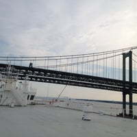 Photo taken at Delaware Memorial Bridge by Michael D. on 8/4/2012