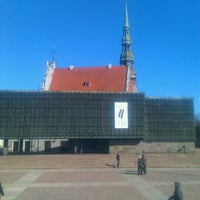 Photo taken at Strēlnieku laukums | Square of Latvian Riflemen by Julie G. on 3/23/2012