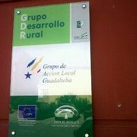 Photo taken at Parque Guadalteba by Comarca del Guadalteba on 6/4/2012
