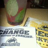 Photo taken at Buffalo Wild Wings by Sara N. on 6/17/2012