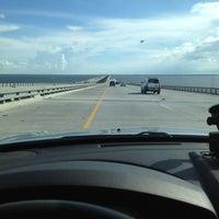 Photo taken at I-10 Twin Span Bridge by Christopher S. on 7/15/2012
