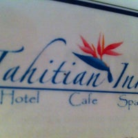Photo taken at Tahitian Inn Cafe by Lizz H. on 5/28/2012