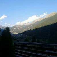Photo taken at Chiesa In Valmalenco by Andrea on 8/18/2012