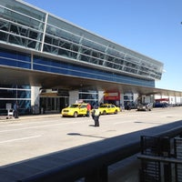 Photo taken at Terminal 8 by Marcelo C. on 3/6/2012