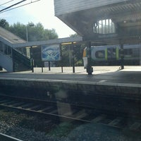 Photo taken at Northampton Railway Station (NMP) by Nelson M. on 8/9/2012