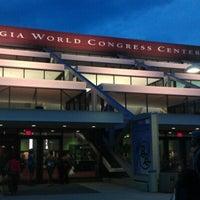 Photo taken at Georgia World Congress Center (GWCC) by Jennifer C. on 8/5/2012