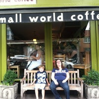 Photo taken at Small World Coffee by Dee D. on 6/23/2012