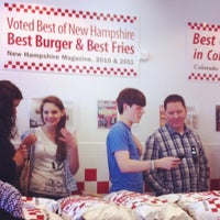 Photo taken at Five Guys by David D. on 4/27/2012