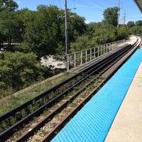 Photo taken at CTA - Noyes by Carolyn B. on 8/17/2012