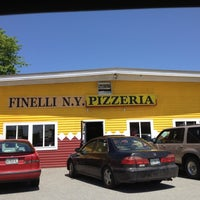 Photo taken at Finelli New York Pizzeria by Justin M. on 5/27/2012