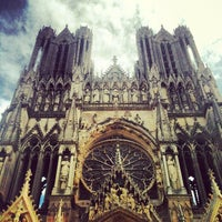 Photo taken at Our Lady of Reims by Moonsieur P. on 8/5/2012