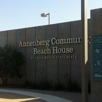 Photo taken at Annenberg Community Beach House by thas n. on 4/5/2012