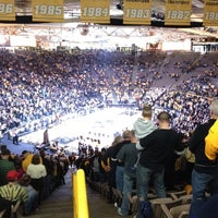 Photo taken at Carver-Hawkeye Arena by Kris L. on 2/4/2012