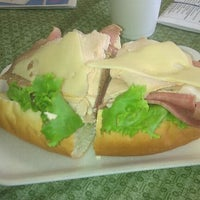 Photo taken at Funaro's Deli & Bakery by Eric R. on 6/1/2012