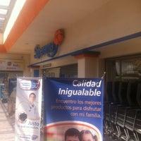 Photo taken at Superama by Jorge C. on 4/7/2012