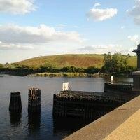 Photo taken at Pelham Bridge by Kris R. on 8/13/2012