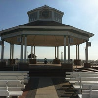 Photo taken at Rehoboth Beach Bandstand by Gar G. on 3/29/2012