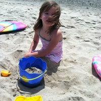Photo taken at Town Neck Beach / Boardwalk by Linda L. on 5/27/2012