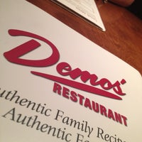 Photo taken at Demos' Restaurant by Chase on 8/3/2012