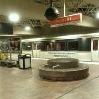 Photo taken at MARTA - Airport Station by marcus t. on 2/9/2012