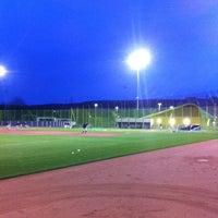 Photo taken at Heerenschuerli Baseball Stadium by Chris S. on 5/8/2012