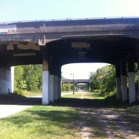 Photo taken at The Midtown Greenway by Seth T. on 8/27/2012