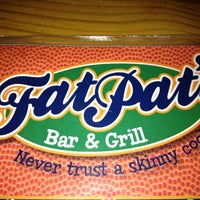 Photo taken at Fat Pat's Bar & Grill by Tom B. on 3/16/2012