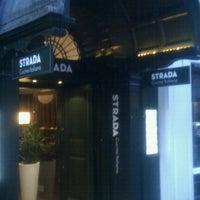 Photo taken at Strada by Nick T. on 8/12/2012