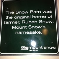 Photo taken at The Snow Barn by Andy R. on 3/25/2012