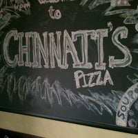 Photo taken at Chinnati's Pizza by Nathan M. on 6/17/2012
