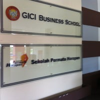 Photo taken at GICI Business School by Jupendi T. on 7/22/2012
