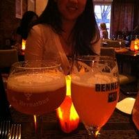Photo taken at Belga Cafe by Josh D. on 5/8/2012