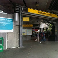 Photo taken at Lougheed Town Centre SkyTrain Station by John R. on 8/19/2012