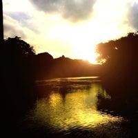 Photo taken at Pavilion Rim Kwai Resort Kanchanaburi by TIIPP✨ on 8/2/2012