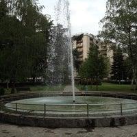 Photo taken at Parco Renzo Rivolta by Alex M. on 4/16/2012
